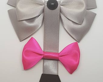 Eeyore Bow | Eeyore Inspired | Winnie The Pooh Inspired | Eeyore Hair Bow | Disney Inspired Hair Bow | Disney Cosplay | Disneybound