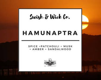 Hamunaptra| 9 oz | The Mummy Inspired Soy Wax Scented Candle