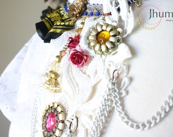 Menaka II /// necklace by Jhumki Couture - designs by raindrops