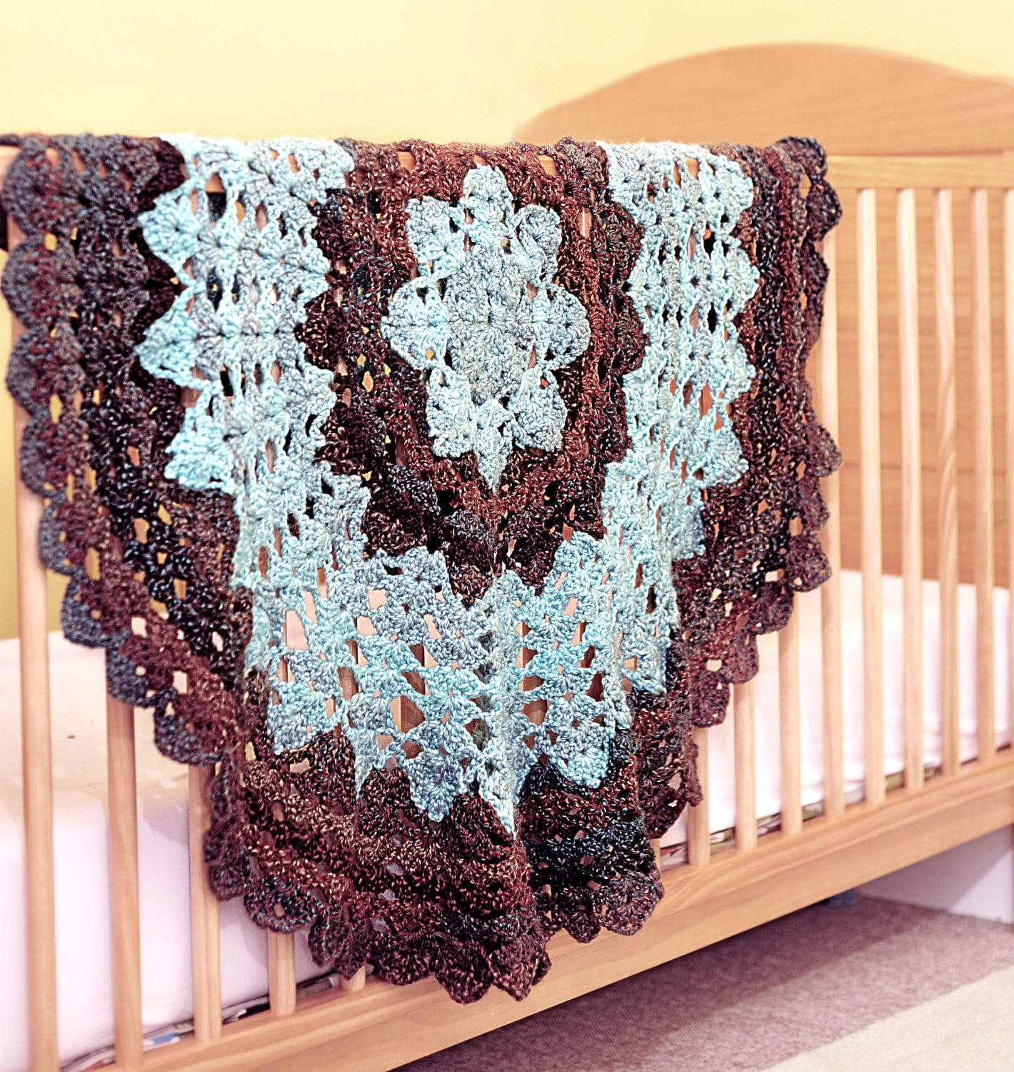 Star Blanket Crochet Pattern - Quick and Easy - Suitable for Baby ...
