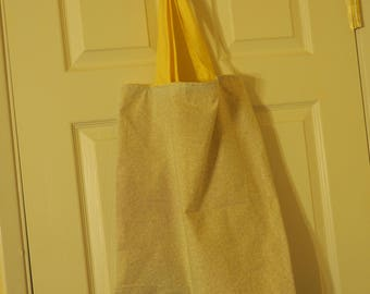 Large Cotton Shopping Tote