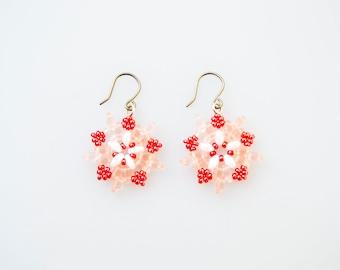 Cherry Blossom Starburst Earrings
