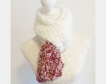 Knit scarf Scarf knitting
