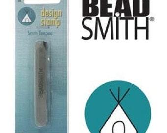 TEEPEE Beadsmith 6mm Metal Stamp