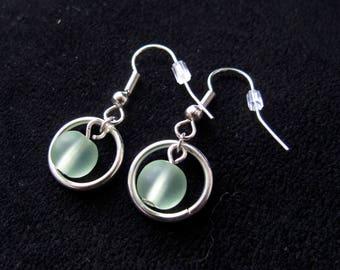 Hooped Bead Earrings