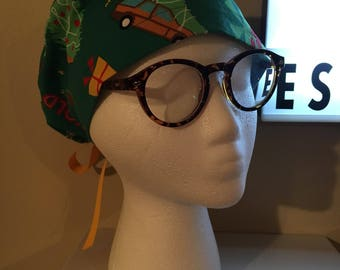 Christmas Vacation Griswold Surgical Scrub Hat