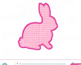 Easter bunny silhouette,Easter Bunny,Easter applique,Bunny silhouette,Bunny applique,Bunny embroidery,Easter,Easter Bunny,-21