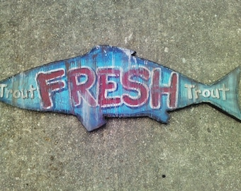 Painted Fish Sign