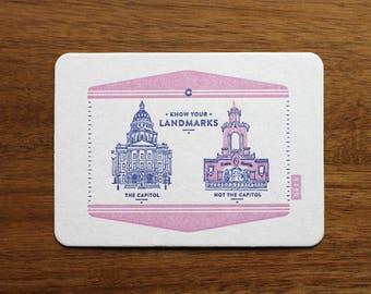 Mi Capital Es Su Capital Postcard