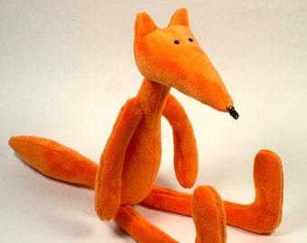 Plush Red Fox  14 inches (36 cm)