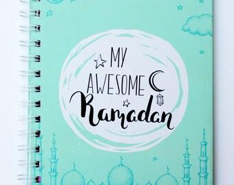 Awesome Ramadan Journal (Printable Version) / Planner; Daily Ramadan Planner; Islamic Planner; Muslim journal; Muslimah Journal