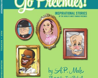 Go Preemies! Children's Book