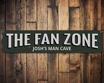 Personalized Man Cave Signs Etsy : Sports lovers signs etsy