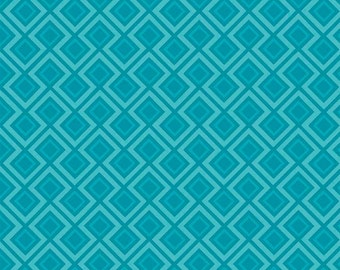 Fantine by Riley Blake - Geometric Blue - Cotton Woven Fabric