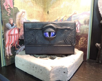 Double Deck Box (Black with Purple Eye)
