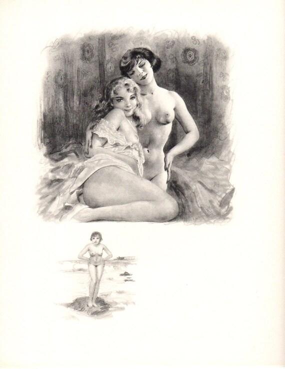 Vintage French Lesbians