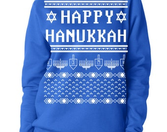 Ugly Hanukkah Women's Sweatshirt Sweater