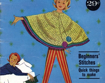 Let's Crochet from American Thread Company - Star Book No. 175