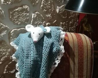 mouse crochet blanket