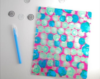 Happy planner cover. 3D Discbound Classic 7.5x9.5 Happy Planner cover size.  Discbound notebook cover.