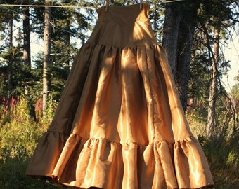 Taffeta Petticoat, Made to Order, Choose Your Color, Misses' Size 6-8-10-12-14-16-18-20-22