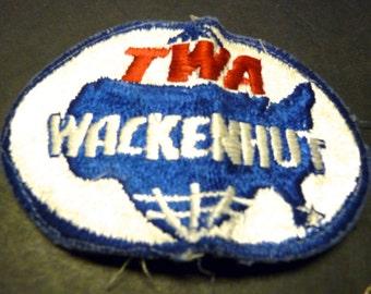 1.00 SALE~A TWA Wackenhut Patch- old version