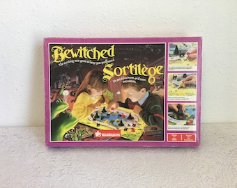 "Waddingtons BEWITCHED Game, The Exciting Race Game to keep you Spellbound"" vintage board game"