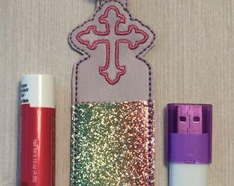 Lip Balm Holder , USB holder, Chapstick  Holder, key chain