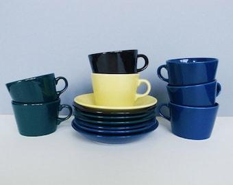Finnish Vintage Arabia Finland - Kilta - Coffee / Tea Cup and Saucer by Kaj Franck