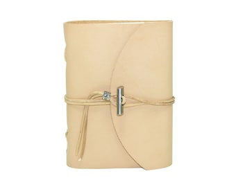 Soft leather book OX Nature Classic A6 diary book sketchbook of brand Vicky's World - Made in Germany