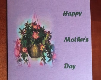 Hanging Flowers - Mother's Day