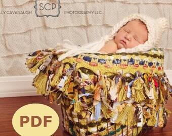 Nouveau-né Chunky Pixie Bonnet Knitting Pattern PDF 119, téléchargement immédiat--plus de 16 000 modèles vendus--Permission de vendre vos chapeaux tricotés
