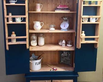 Kitchen Larder Pantry Storage Unit Hand Painted Farrow & Ball