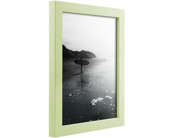 """Craig Frames, 5x7 Inch Light Pastel Green Picture Frame, , Confetti, .875"""" Wide (1406420507)"""