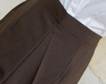 1950's style high waist pants women