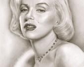 Marilyn Monroe - A3 Size ...