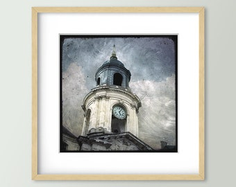 Le Beffroi de la Mairie - Rennes - Fine Art Print 30x30cm - Signed and numbered
