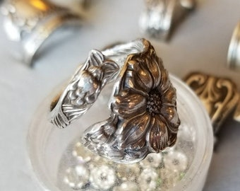 Sterling Flower Ring