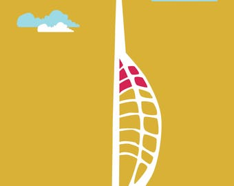A4 Spinnaker Tower – Portsmouth