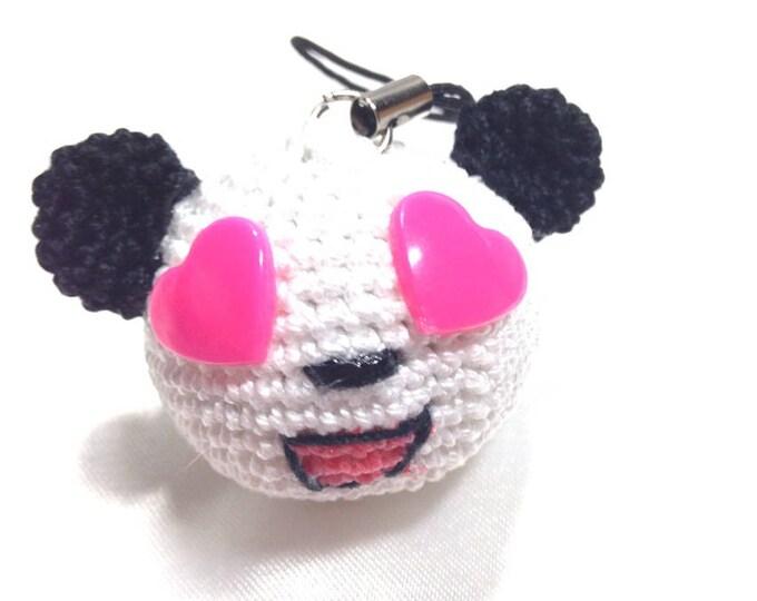 Keychain Panda Lover! all cotton