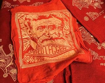 Red Legger Shop Rags