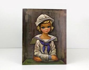 Sailor Girl Eden print / Contemporary American art print