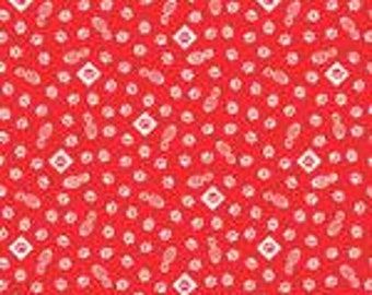 Cub Scouts Red and White Paws (Wolf) Print