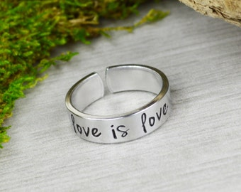 Love is Love Equality Ring