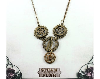 Dream time steam punk cog jewellery