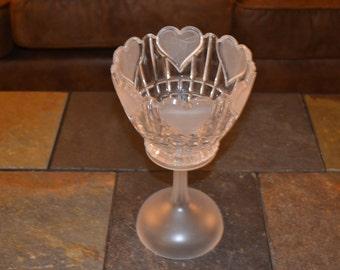 Heart Pedestal Bowl
