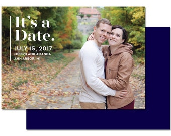 It's a Date DIY Printable Save the Date