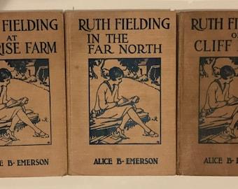 Set of three Ruth Fielding books