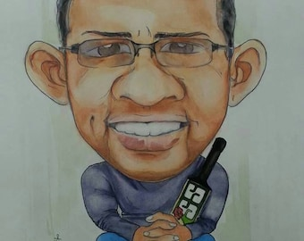 Cartoon, Caricatures,  portrait, Custom portrait, Art commissions
