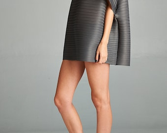 Grey Gao Pleated Dress